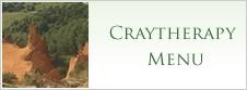 Craytherapy Menu